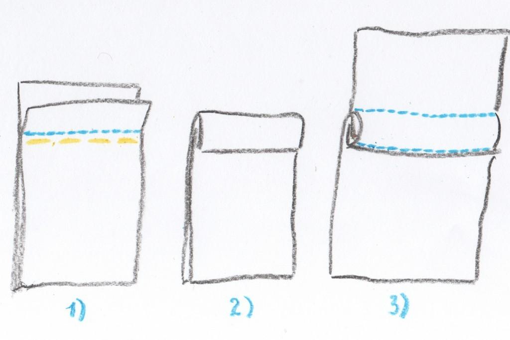 Как сшить пододеяльник запошивочным швом 46