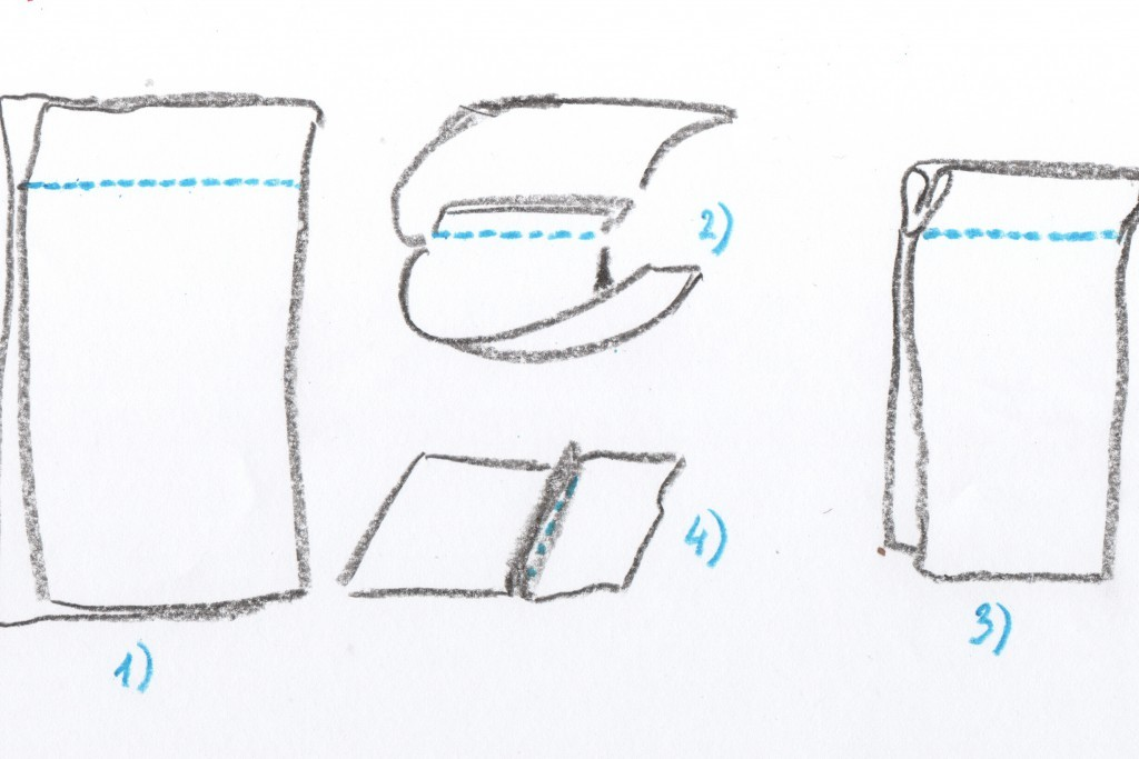 Как сшить постельное белье бельевым швом 5