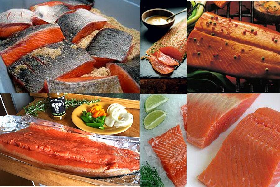 Рецепты для засолки красной рыбы в домашних условиях