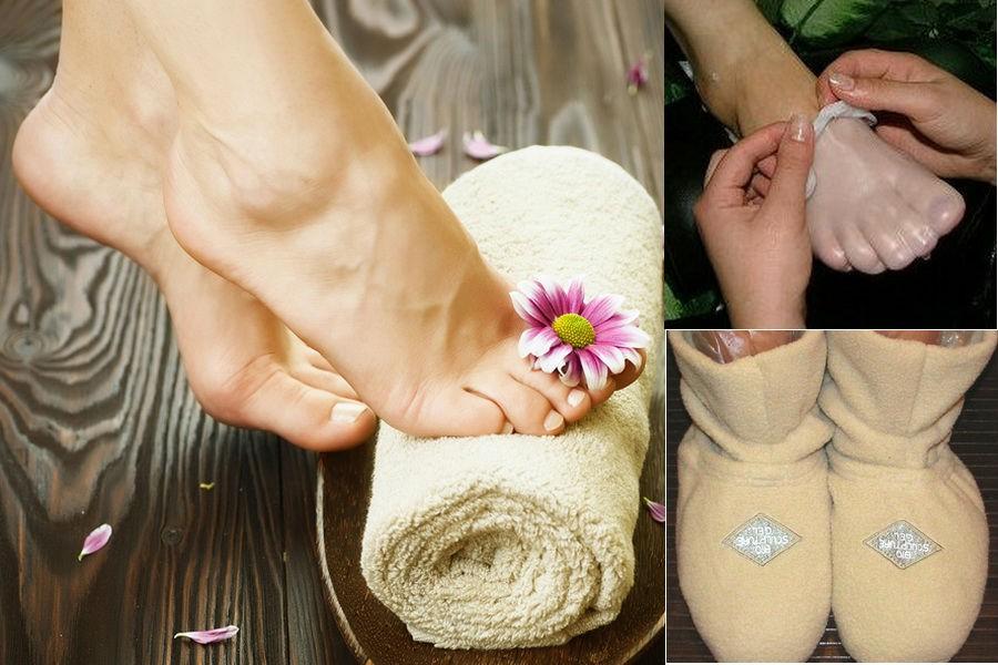 Парафиновые ванночки для ног дома