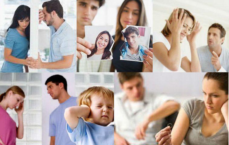 Основные кризисы в семейных отношениях
