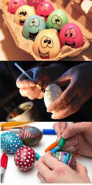 Роспись пасхальных яиц