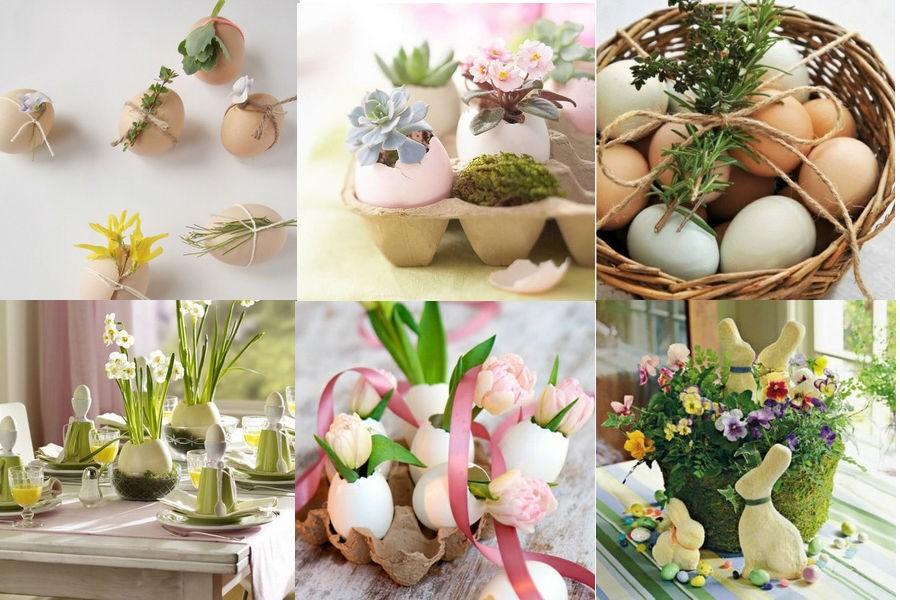 Элементы декора пасхального стола