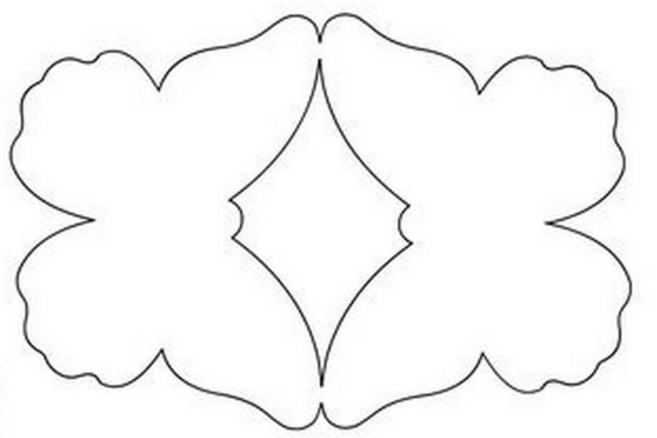 Бабочки для открытки шаблоны 34