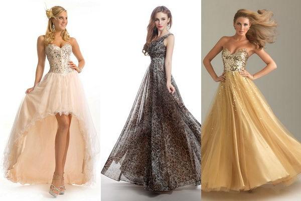 Модный узор на платье
