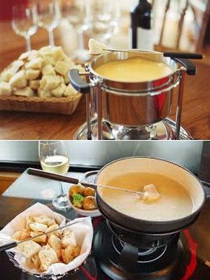 Рецепт фондю из сыра в домашних условиях