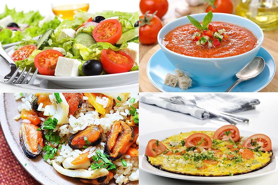 Рецепты блюд из средиземноморской диеты