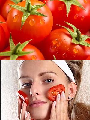 Маски из томатов, применение
