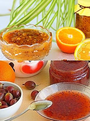 Варенье из крыжовника с апельсинам