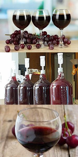 Как сделать великолепное вишневое вино 512