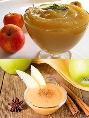 Как в домашних условиях пюре яблочное