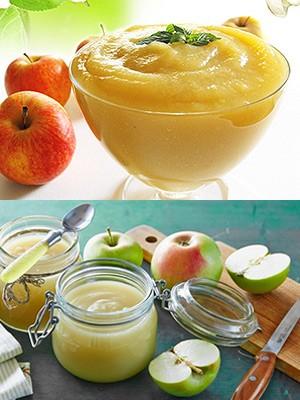 Как сделать пюре из яблока в блендере