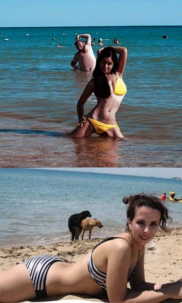 Неудачная фотосессия на пляже