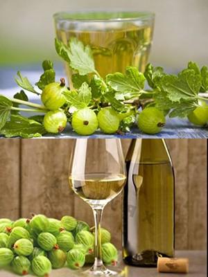 Десертное вино из крыжовника