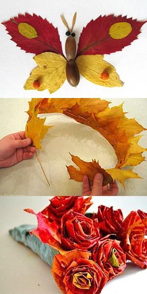 поделки из природного материала инструкция и фото