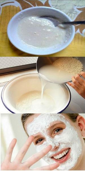 рецепты рисовых масок