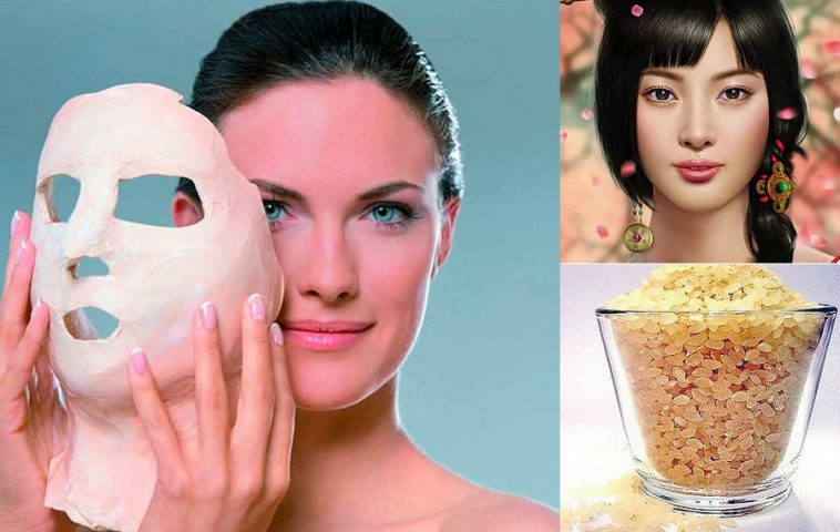 рисовая маска для лица от морщин