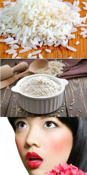 рис для лица