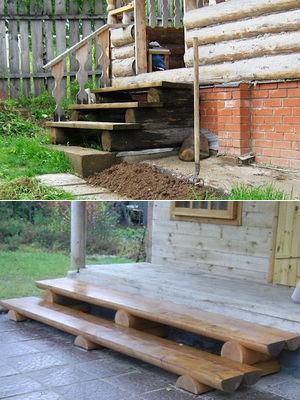 Построить крыльцо своими руками для деревянного дома