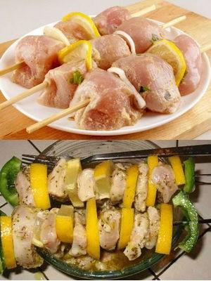 маринад с лимоном для птицы