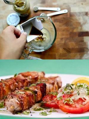 как мариновать мясо на шашлык в соевом соусе