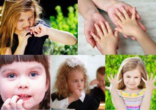 ребенок грызет ногти - что делать родителям