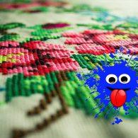 нарушаем правила вышивания