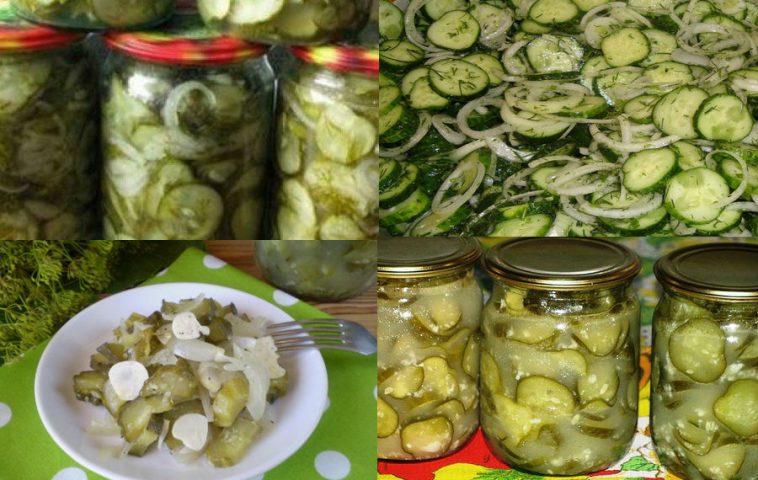 Рецепт как сделать салат из огурцов на  107