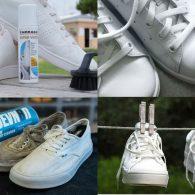 как отмыть кроссовки