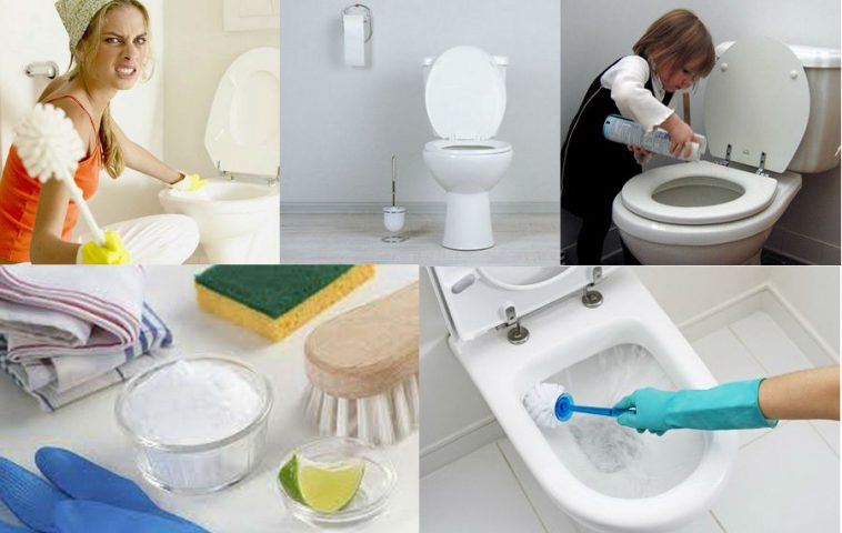 чем отмыть унитаз