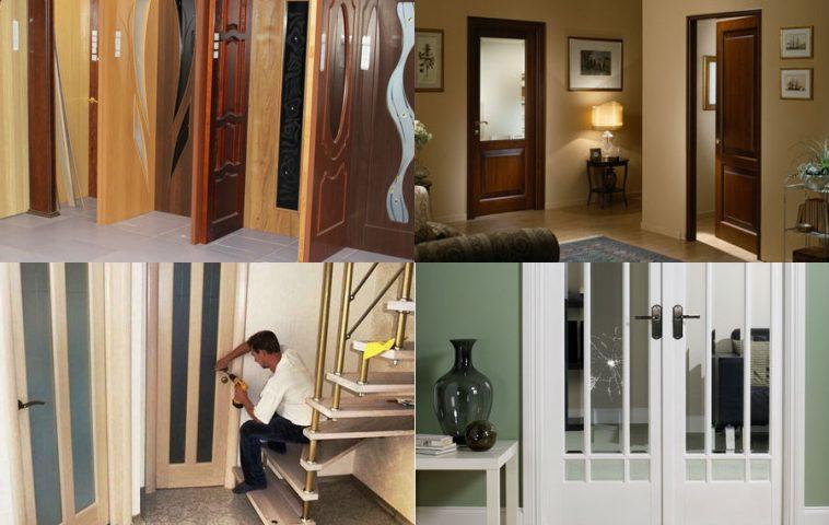 как установить или поменять межкомнатную дверь самому
