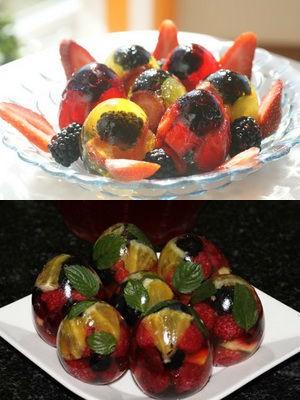 сладкие с фруктами на десерт
