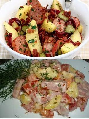 простой салат для мужчин