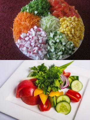из сезонных овощей