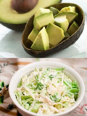 из авокадо