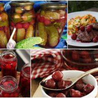 маринованная вишня на зиму - рецепты