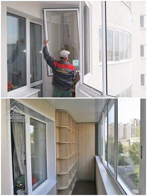 пластиковые оконные блоки для лоджии