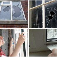 как заменить стекло в окне своими руками