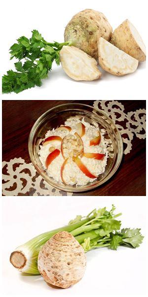 как готовить салат из корневого сельдерея