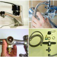 как починить смеситель в ванной своими руками