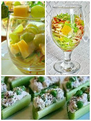 как красиво подать салат из сельдерея