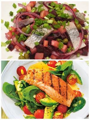 рецепты постных новогодних салатов