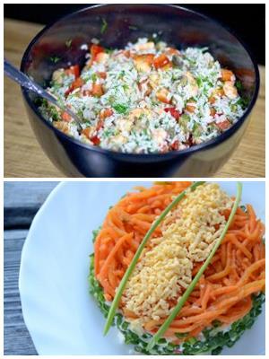 монастырский салат