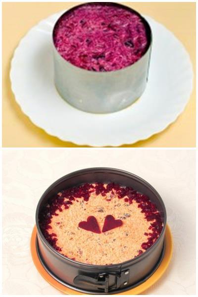 как приготовить красивый салат