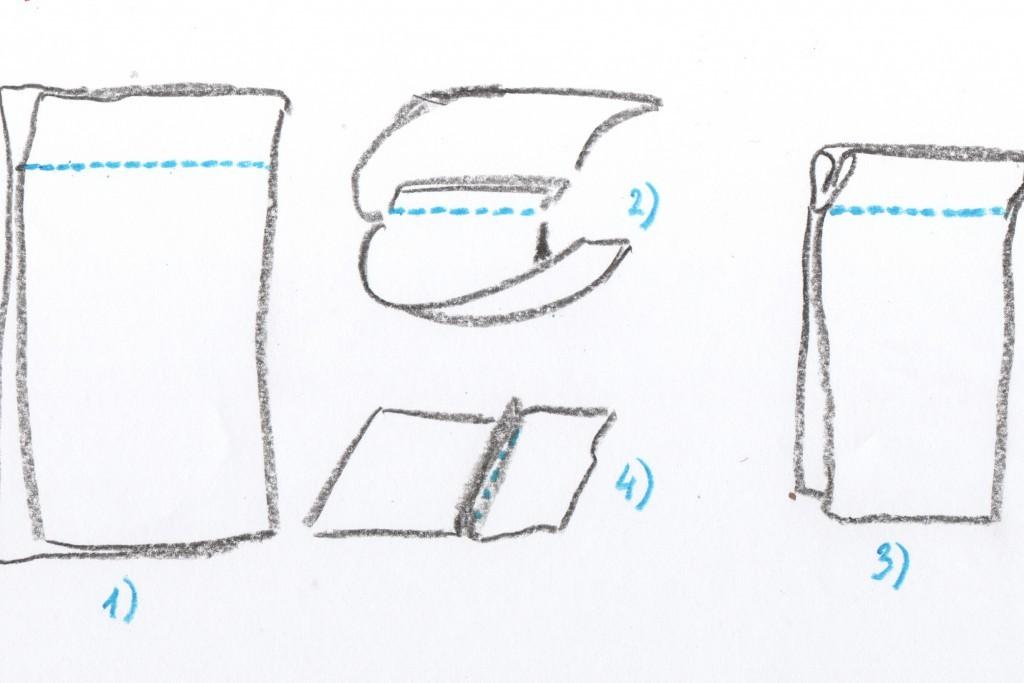 Бельевые швы, или Как сшить чехол для планшета