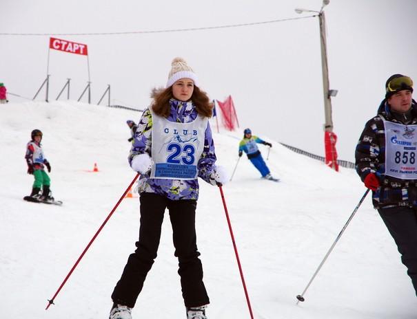 Горные лыжи в Тамбове.