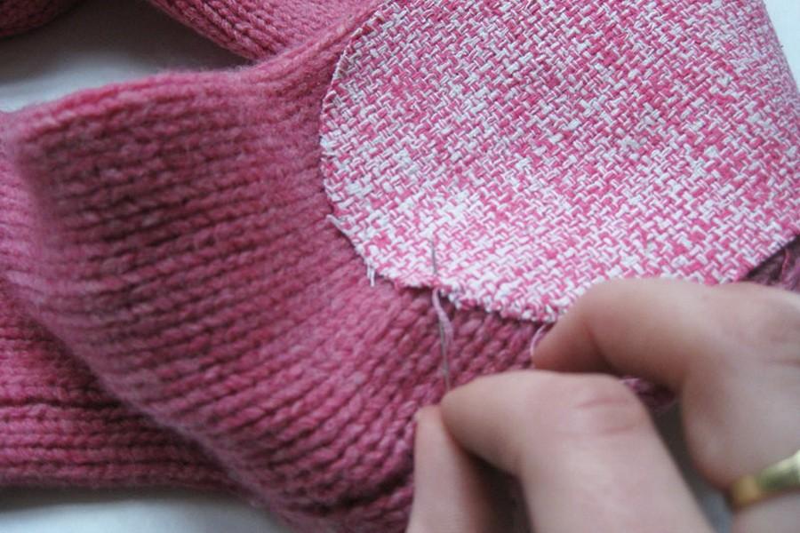 Починка одежды, или Как правильно зашить дырку