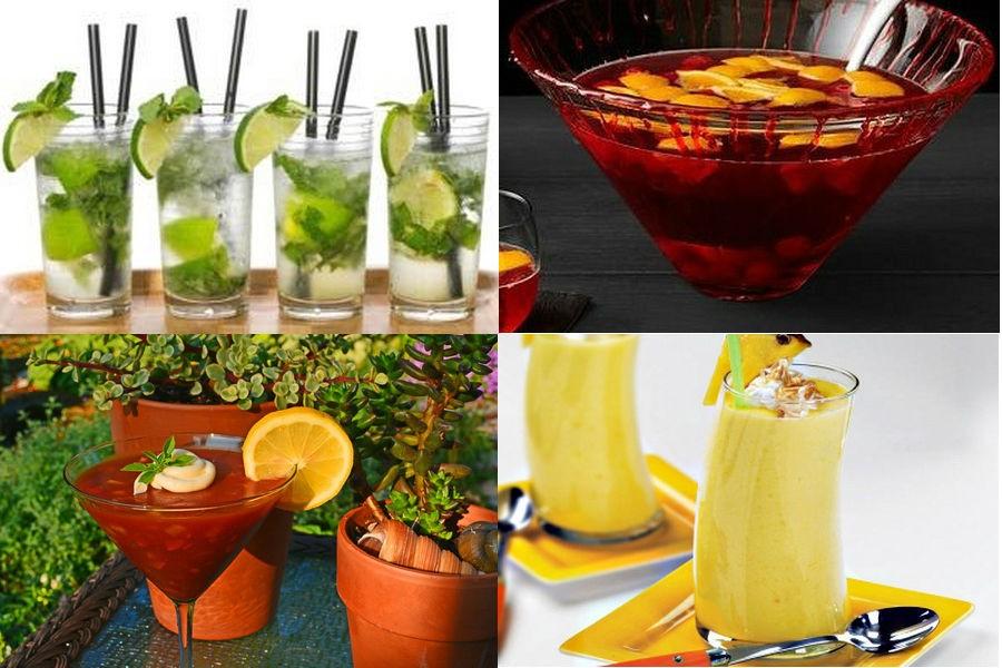 Безалкогольные праздничные напитки