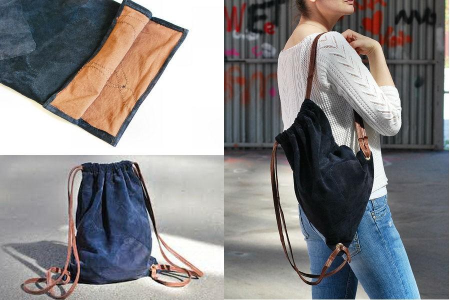 Мешок-рюкзак своими руками