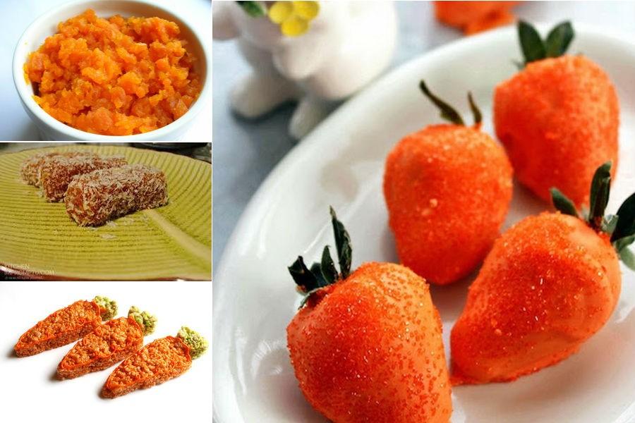 Морковный десерт